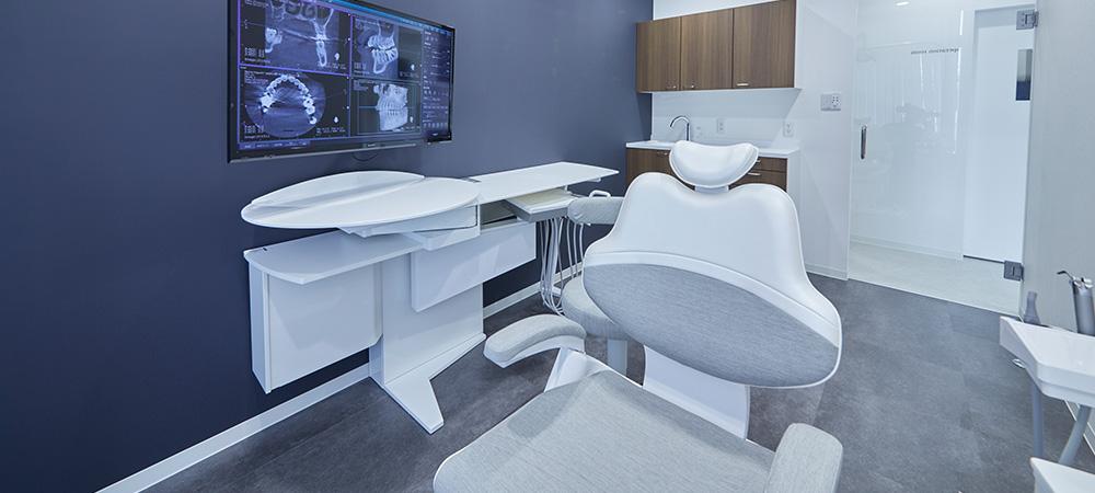 バリアフリーの歯科医院